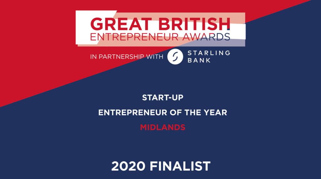 Great British Entrepreneur Awards Finalist